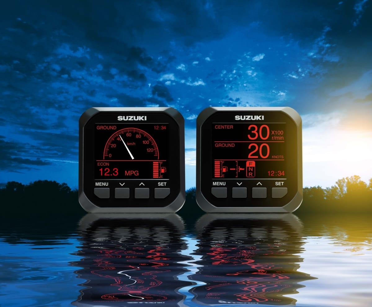 Suzuki Digital Marine Gauges
