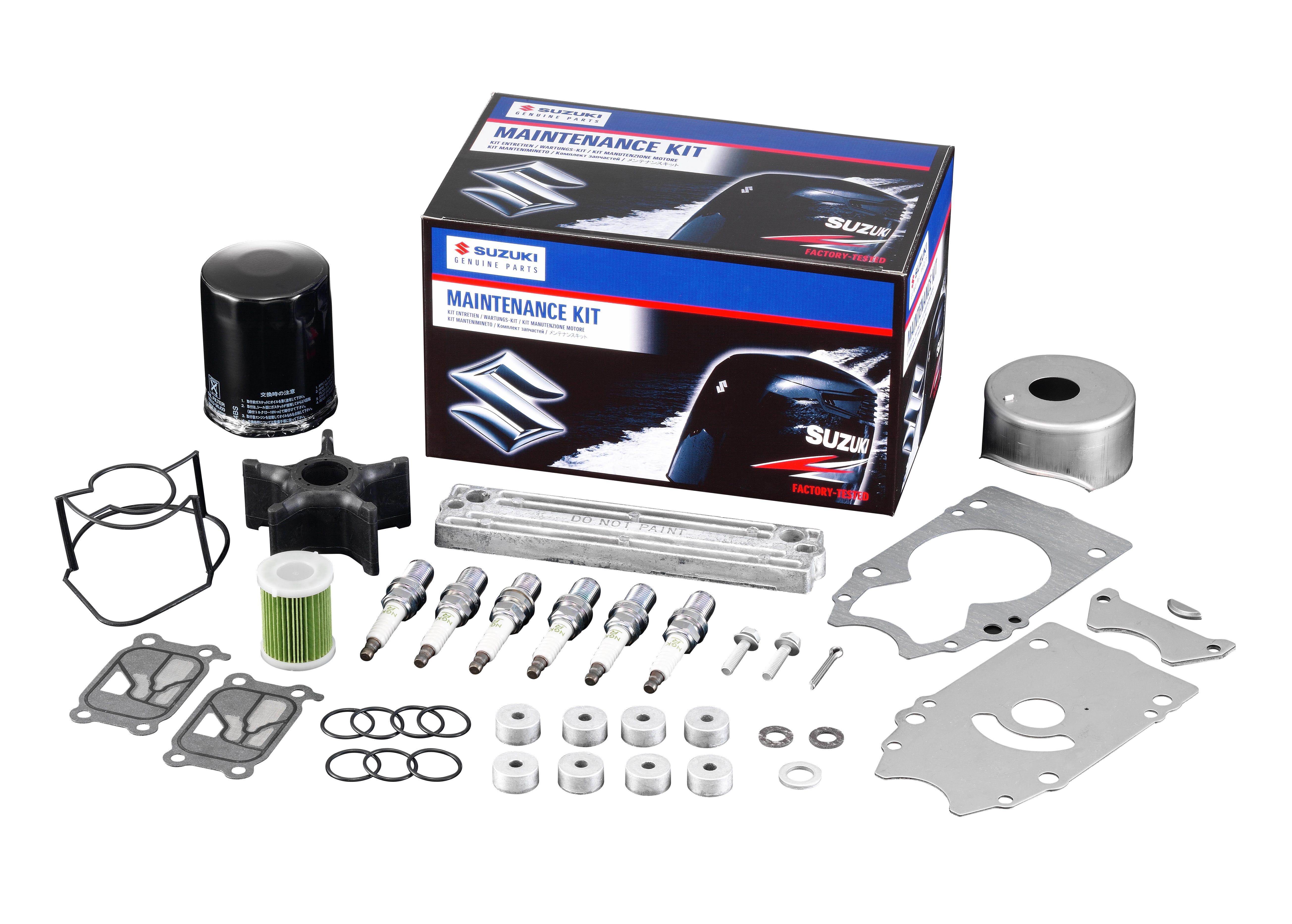 Suzuki maintenance kits make winter servicing even easier | Suzuki