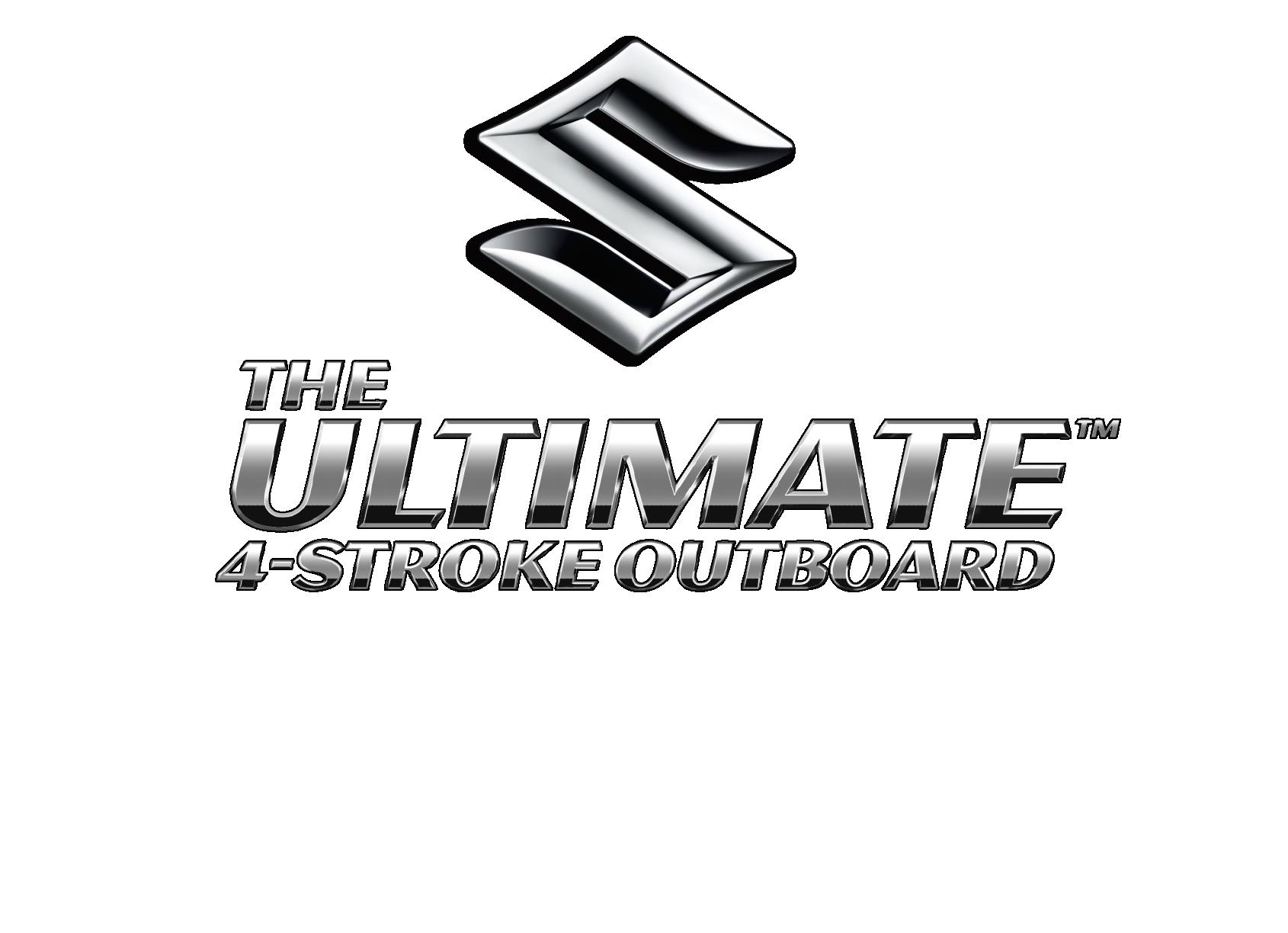Suzuki Ultimate Outboard Logo Silver